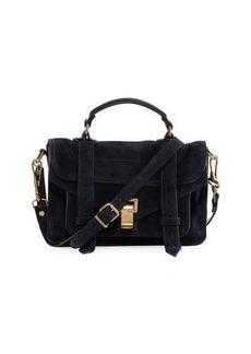 Proenza Schouler PS1 Tiny Suede Satchel Bag
