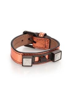 Proenza Schouler PS11 Metallic Leather Bracelet