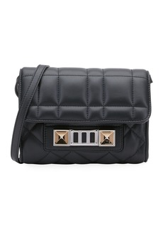 Proenza Schouler PS11 Quilted Leather Wallet-on-Strap