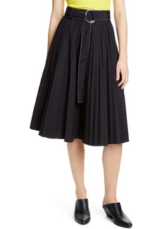 Proenza Schouler White Label Belted Parachute Skirt