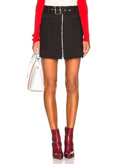 Proenza Schouler White Label Belted Utility Skirt