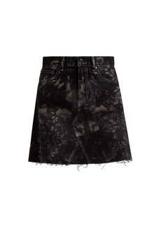 Proenza Schouler PSWL Bleached denim mini skirt