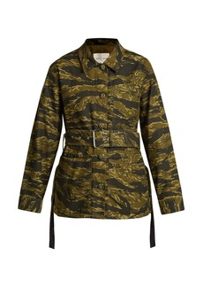 Proenza Schouler PSWL Camouflage-print cotton jacket