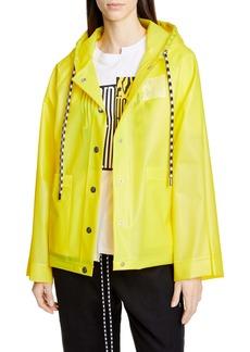 Proenza Schouler PSWL Care Label Graphic Raincoat