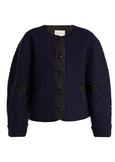 Proenza Schouler PSWL Contrast-panel fleece jacket
