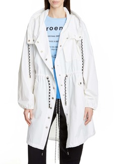 Proenza Schouler PSWL Crinkle Drawstring Waist Coat