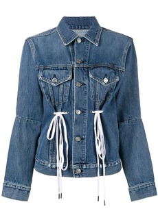Proenza Schouler PSWL Denim Drawstring Jacket - Blue