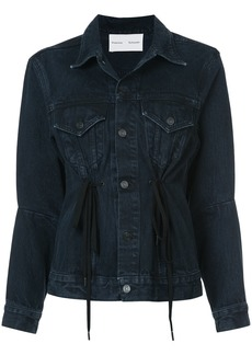 Proenza Schouler PSWL Denim Drawstring Jacket - Grey