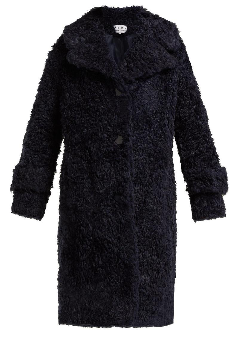 f09179ae1965 Proenza Schouler Proenza Schouler PSWL Faux-shearling coat