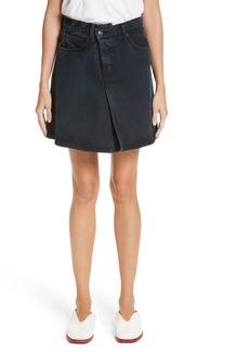 Proenza Schouler PSWL Folded Denim Skirt