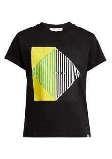 Proenza Schouler PSWL Graphic-print cotton-jersey T-shirt