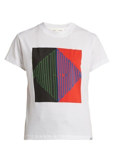 Proenza Schouler PSWL Graphic-print cotton T-shirt