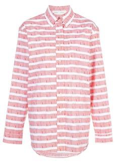 Proenza Schouler PSWL Graphic Stripe Shirt