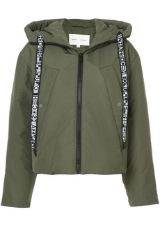 Proenza Schouler PSWL Hooded Puff Jacket - Green
