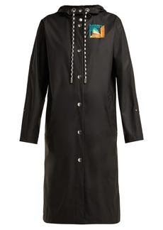Proenza Schouler PSWL Hooded rubberised rain jacket