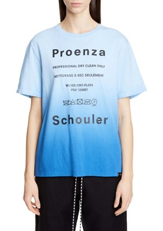 Proenza Schouler White Label Ombré Graphic Tee