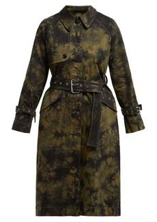 Proenza Schouler PSWL PSWL tie-die trench coat