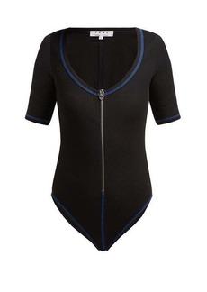 Proenza Schouler White Label Scoop-neck stretch-jersey bodysuit