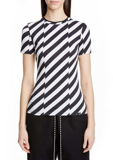 Proenza Schouler White Label Stripe Tee