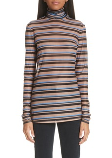 Proenza Schouler PSWL Stripe Turtleneck Top