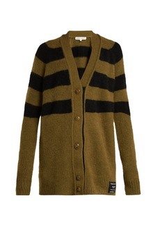 Proenza Schouler PSWL Striped cardigan