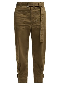 Proenza Schouler PSWL Utility cotton twill slouchy trousers