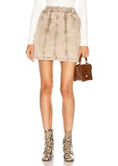 Proenza Schouler White Label Zipper Skirt