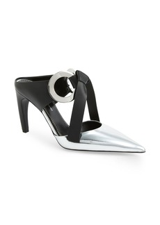 Proenza Schouler Ring Tie Pointy Toe Mule (Women)