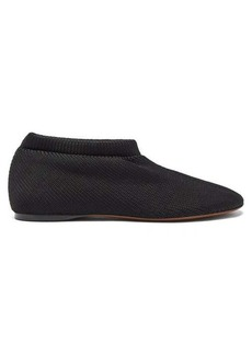 Proenza Schouler Rondo rib-knitted slippers