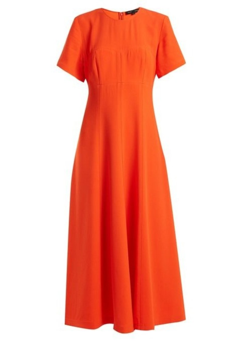 Proenza Schouler Round neck stretch-crepe dress