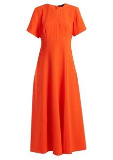 Proenza Schouler Round neck stretch-crepe dress