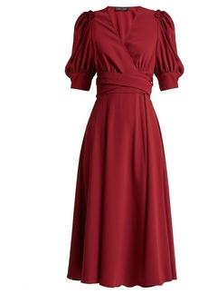 Proenza Schouler Ruffled crepe wrap dress