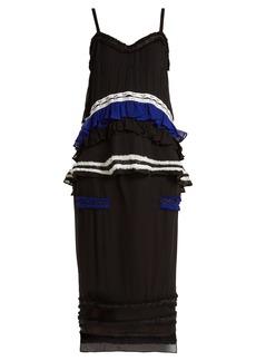 Proenza Schouler Ruffled silk two-piece dress