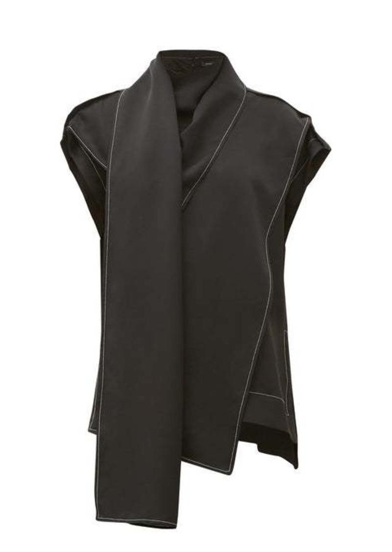 Proenza Schouler Satin scarf top