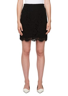 Proenza Schouler Scalloped Lace Mini Skirt