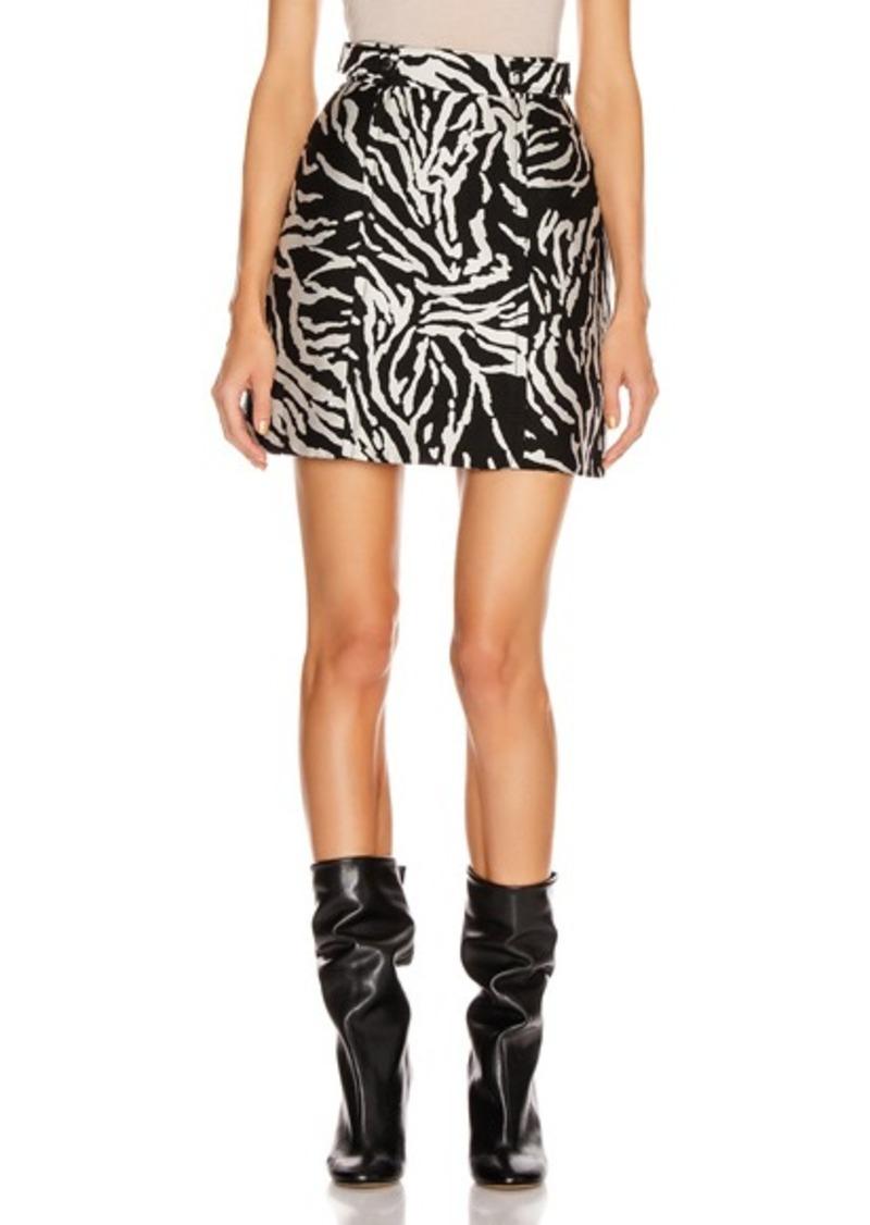 Proenza Schouler Short A-Line Skirt