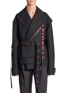 Proenza Schouler Short Asymmetric Coat