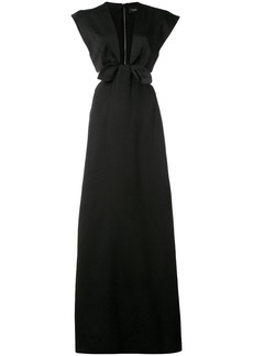 Proenza Schouler Short Sleeve Cut Out Dress