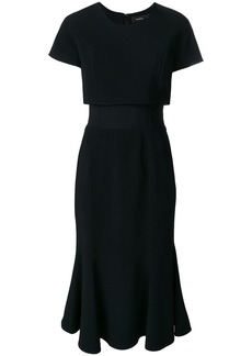 Proenza Schouler Short Sleeve Dress - Black