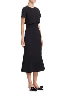 Short Sleeve Popover Dress