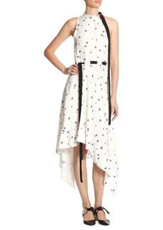 Proenza Schouler Silk Asymmetric Dress