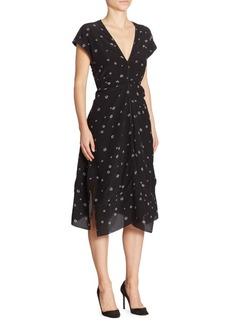 Proenza Schouler Silk Cap Sleeve Dress