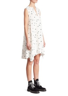 Proenza Schouler Silk Trapeze Dress