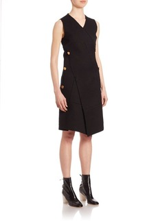 Proenza Schouler Sleeveless Asymmetric Hem Dress