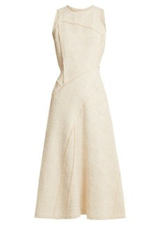 Proenza Schouler Sleeveless boulcé-tweed dress