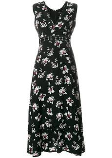 Proenza Schouler Sleeveless long v-neck dress - Black