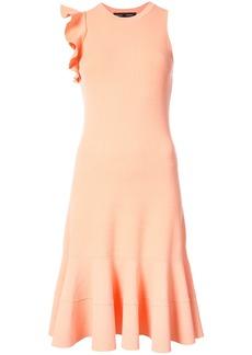 Proenza Schouler Sleeveless one shoulder ruffle dress - Pink & Purple