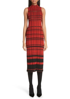 Proenza Schouler Sleeveless Stripe Knit Dress