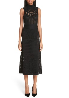 Proenza Schouler Sleeveless Wrap Skirt Midi Dress