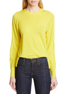 Proenza Schouler Slit Hem Wool Sweater